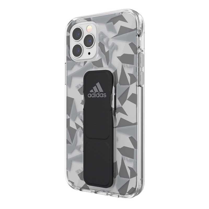Adidas Clear Grip Case iPhone 12 / 12 Pro 6.1 Grijs/transparant - 5