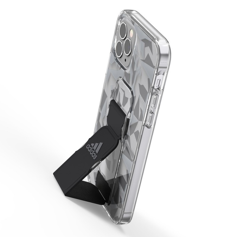 Adidas Clear Grip Case iPhone 12 / 12 Pro 6.1 Grijs/transparant - 6