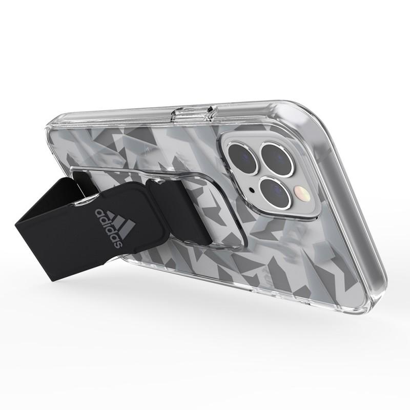 Adidas Clear Grip Case iPhone 12 / 12 Pro 6.1 Grijs/transparant - 7