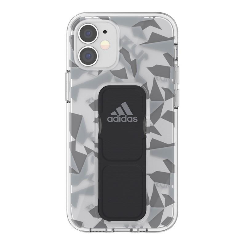 Adidas Grip Case Clear iPhone 12 Mini 5.4 Grijs/transparant - 2