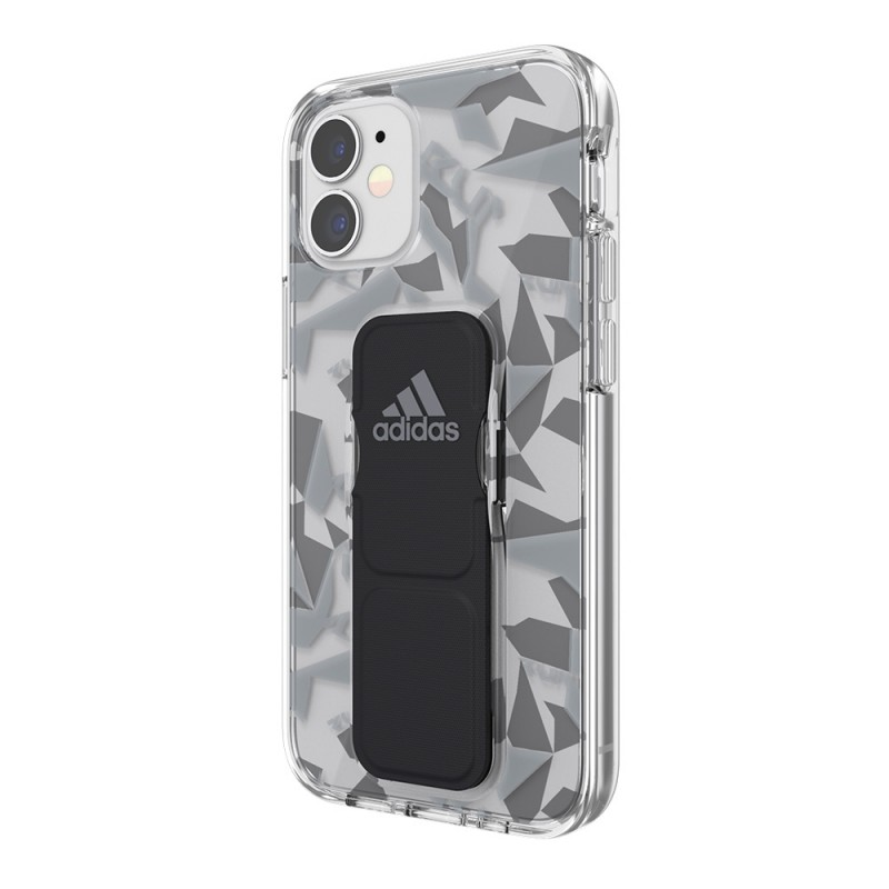 Adidas Grip Case Clear iPhone 12 Mini 5.4 Grijs/transparant - 5