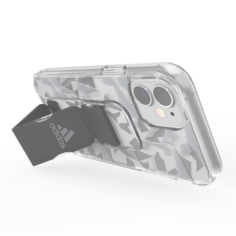 Adidas Grip Case Clear iPhone 12 Mini 5.4 Grijs/transparant - 6