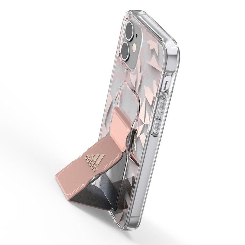 Adidas Grip Case Clear iPhone 12 Mini 5.4 Roze/transparant - 4