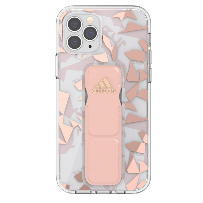 Adidas Clear Grip Case Camo iPhone 12 Pro Max Roze/transparant - 2