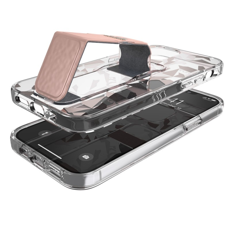 Adidas Clear Grip Case Camo iPhone 12 Pro Max Roze/transparant - 4
