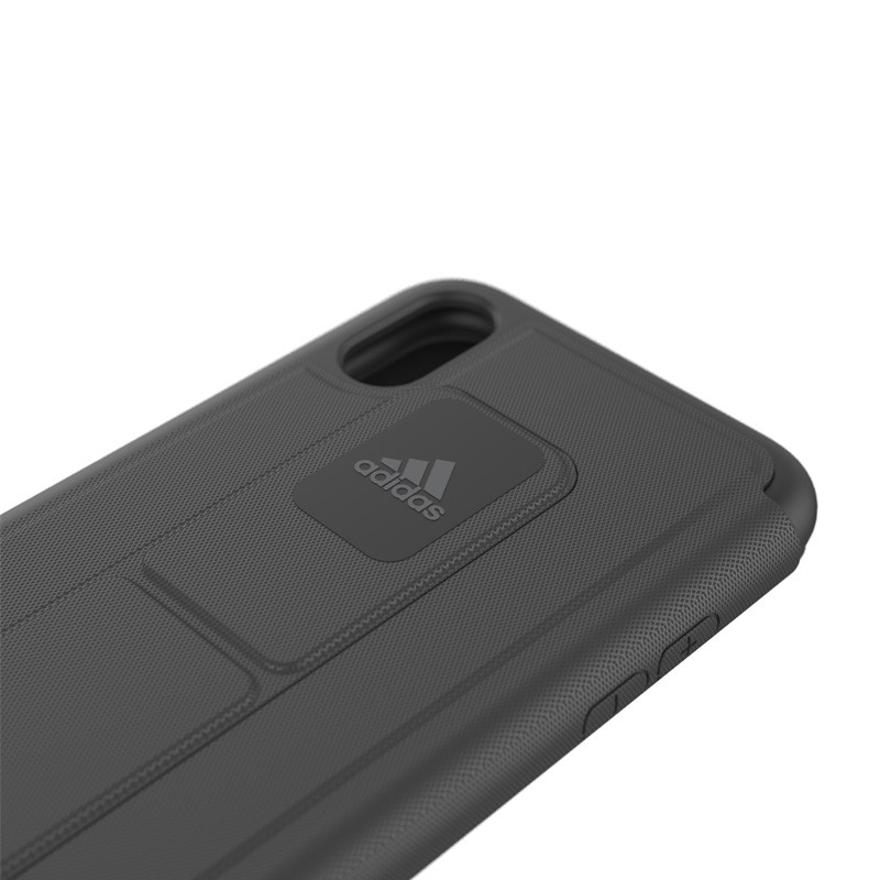 Adidas SP - Grip Case Folio iPhone X/Xs Zwart - 4