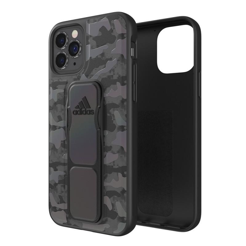 Adidas Grip Case Camo iPhone 12 / 12 Pro 6.1 Zwart Iridescent - 1