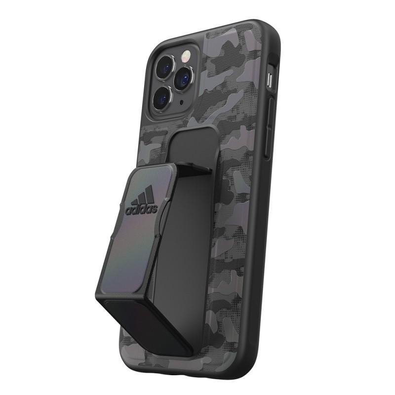 Adidas Grip Case Camo iPhone 12 / 12 Pro 6.1 Zwart Iridescent - 2
