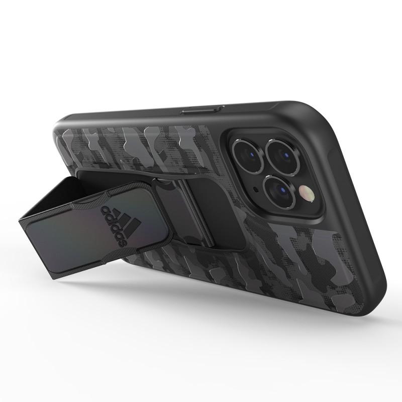 Adidas Grip Case Camo iPhone 12 / 12 Pro 6.1 Zwart Iridescent - 4