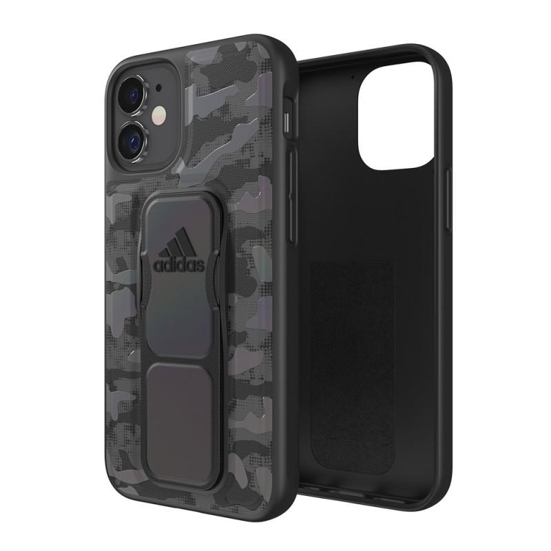 Adidas Grip Case Camo iPhone 12 Mini 5.4 Zwart Iridescent - 1
