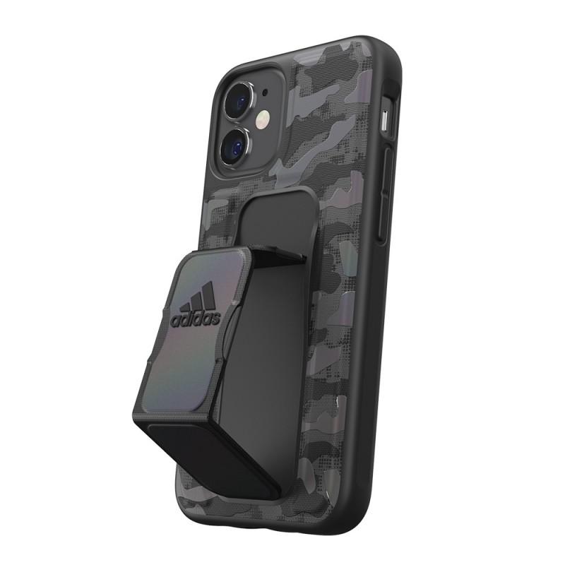 Adidas Grip Case Camo iPhone 12 Mini 5.4 Zwart Iridescent - 2