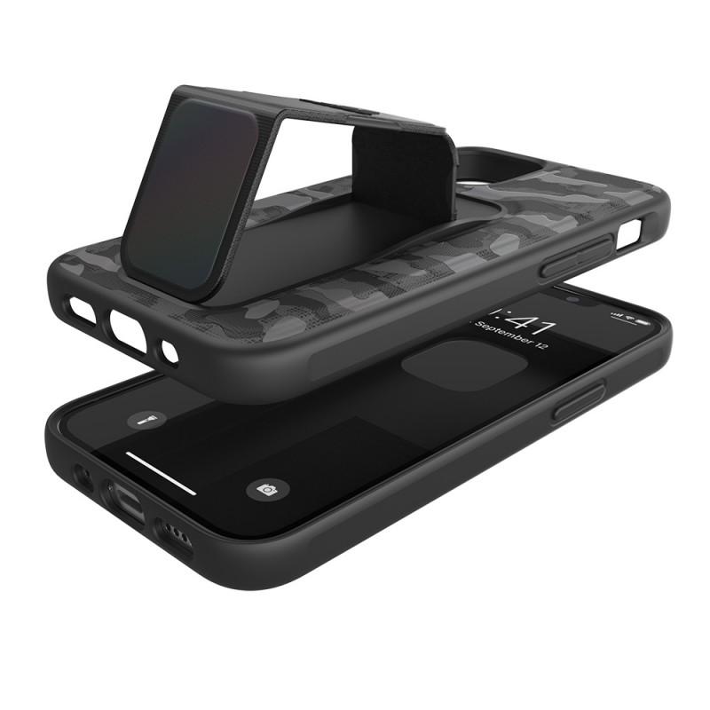 Adidas Grip Case Camo iPhone 12 Mini 5.4 Zwart Iridescent - 5