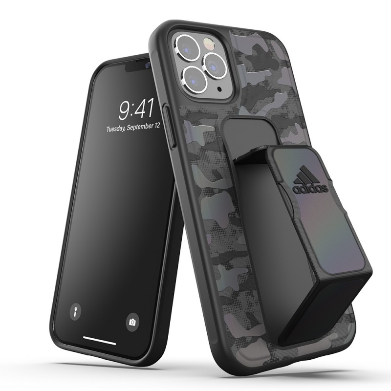 Adidas Grip Case Camo iPhone 12 Pro Max Black Iridescent - 5