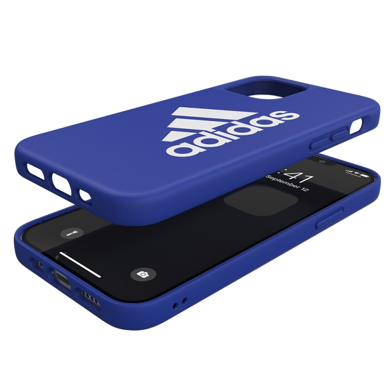 Adidas Iconic Sports Case iPhone 12 / 12 Pro 6.1 Blauw - 2