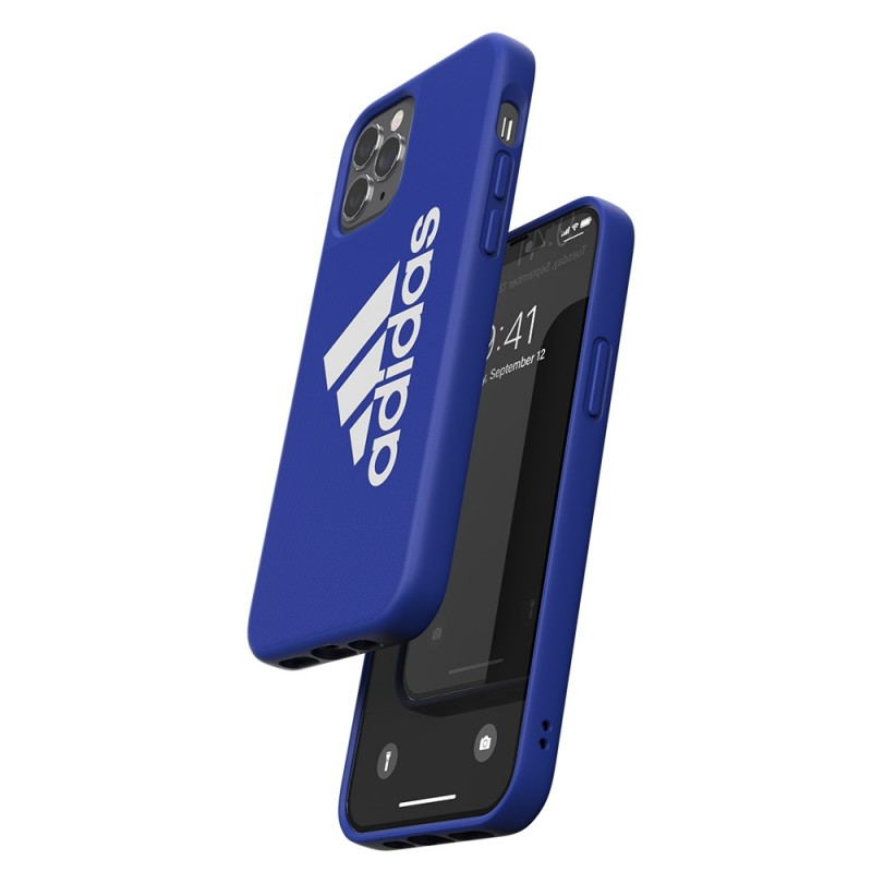 Adidas Iconic Sports Case iPhone 12 / 12 Pro 6.1 Blauw - 3