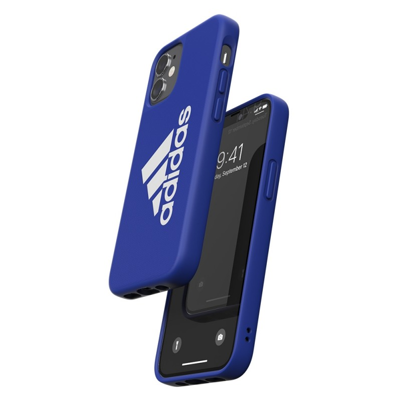 Adidas Iconic Sports Case iPhone 12 Mini 5.4 Blauw - 3