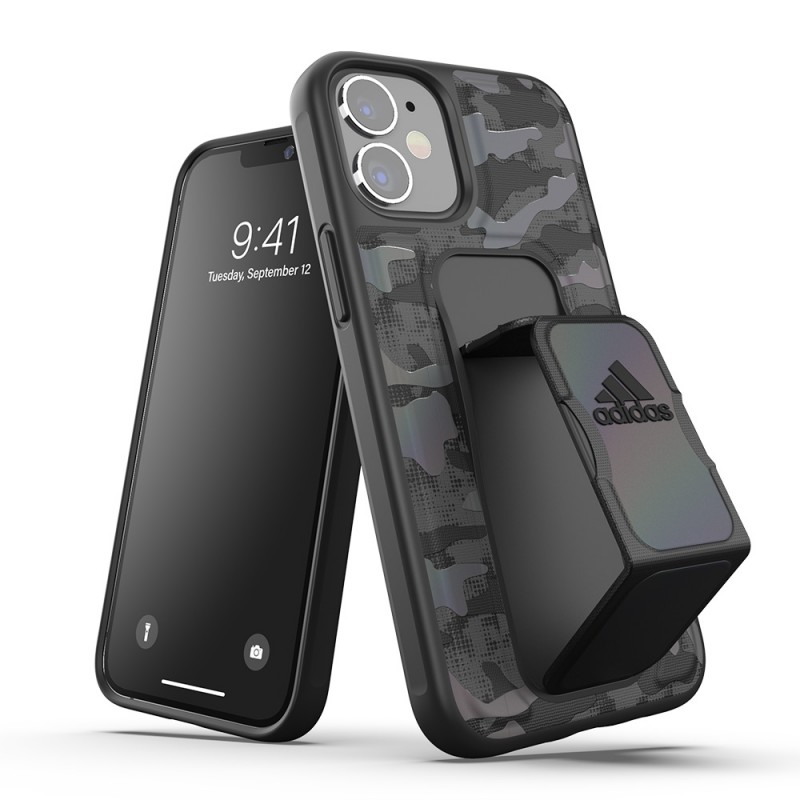 Adidas Iconic Sports Case iPhone 12 Mini 5.4 Zwart - 7