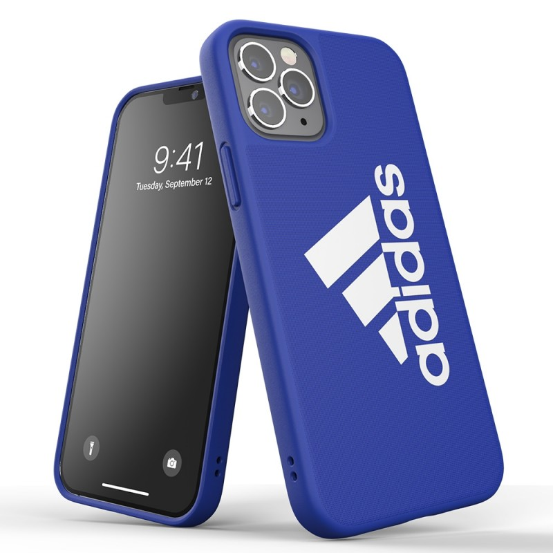 Adidas Iconic Sports Case iPhone 12 Pro Max Blauw - 6