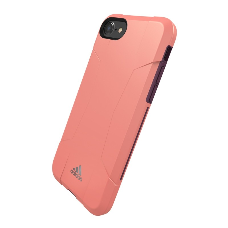 Adidas SP Solo Case iPhone 8/7/6S/6 Roze/Paars - 3