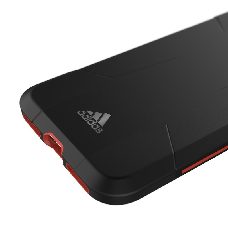 Adidas SP Solo Case iPhone 8/7/6S/6 Zwart/Rood - 2