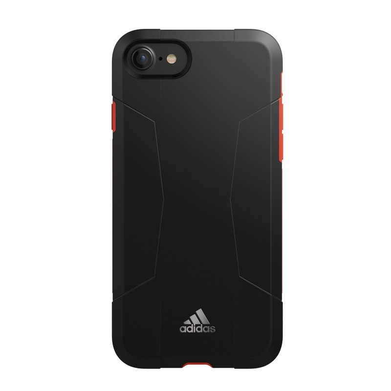 Adidas SP Solo Case iPhone 8/7/6S/6 Zwart/Rood - 4