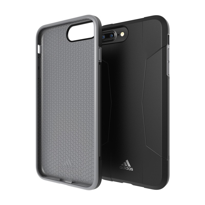 Adidas SP Solo Case iPhone 8 Plus/7 Plus Zwart/Grijs - 1