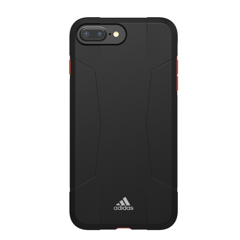 Adidas SP Solo Case iPhone 8 Plus/7 Plus Zwart/Rood - 3