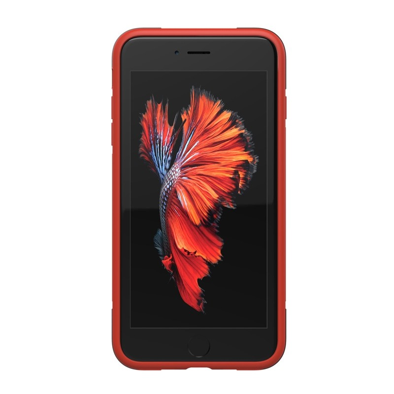 Adidas SP Solo Case iPhone 8 Plus/7 Plus Zwart/Rood - 4
