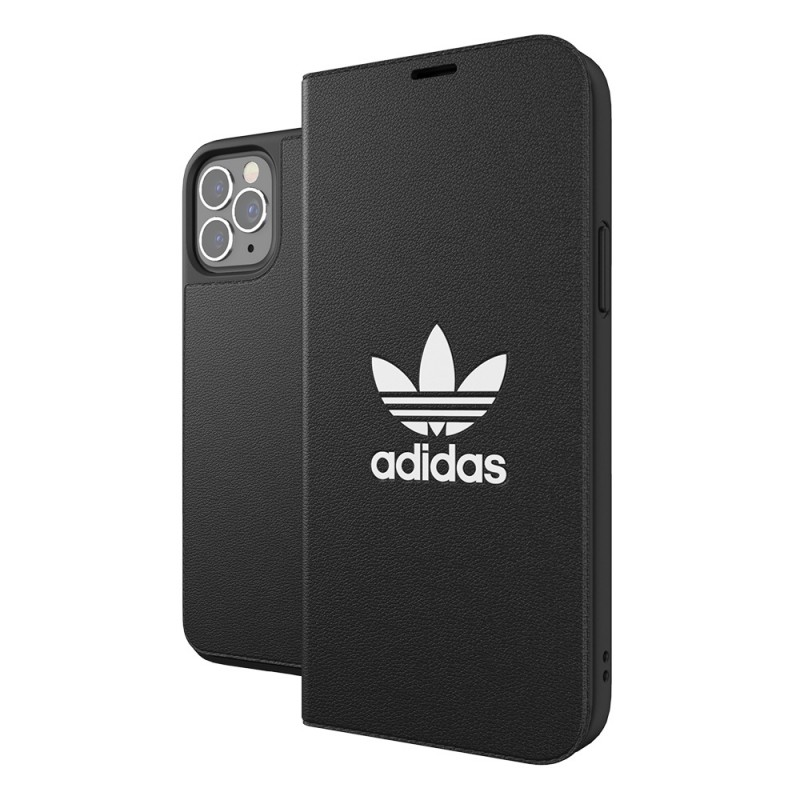 Adidas Trefoil Booklet Case iPhone 12 / 12 Pro 6.1 Zwart - 6
