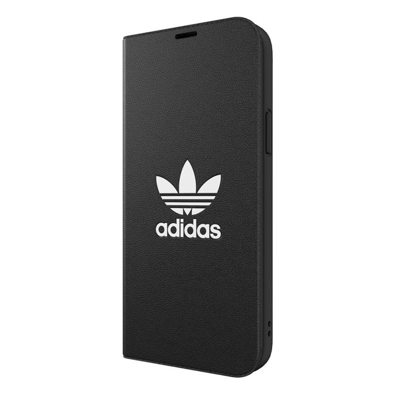Adidas Trefoil Booklet Case iPhone 12 / 12 Pro 6.1 Zwart - 5