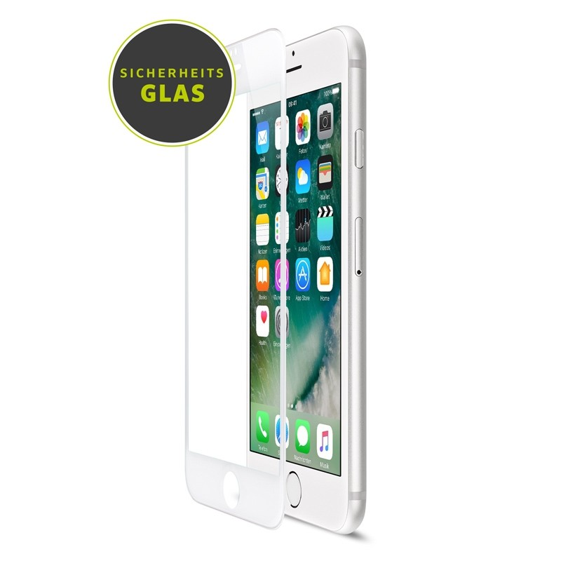 Artwizz Curved Display iPhone 8/7/6S/6 Wit - 1