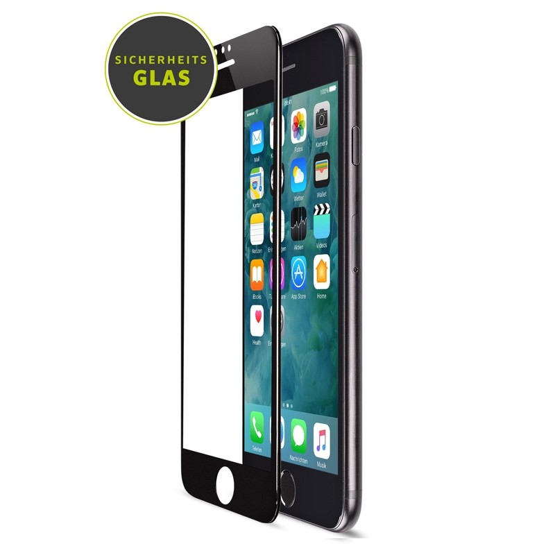 Artwizz Curved Display iPhone 8 Plkus/7 Plus/6S Plus/6 Plus Zwart - 1
