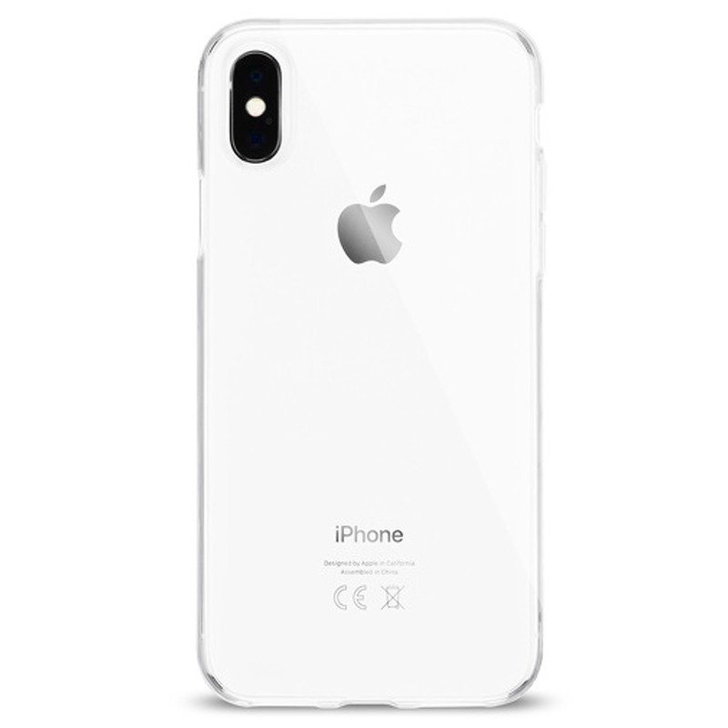 Artwizz NoCase iPhone XS Max Hoesje Transparant 01