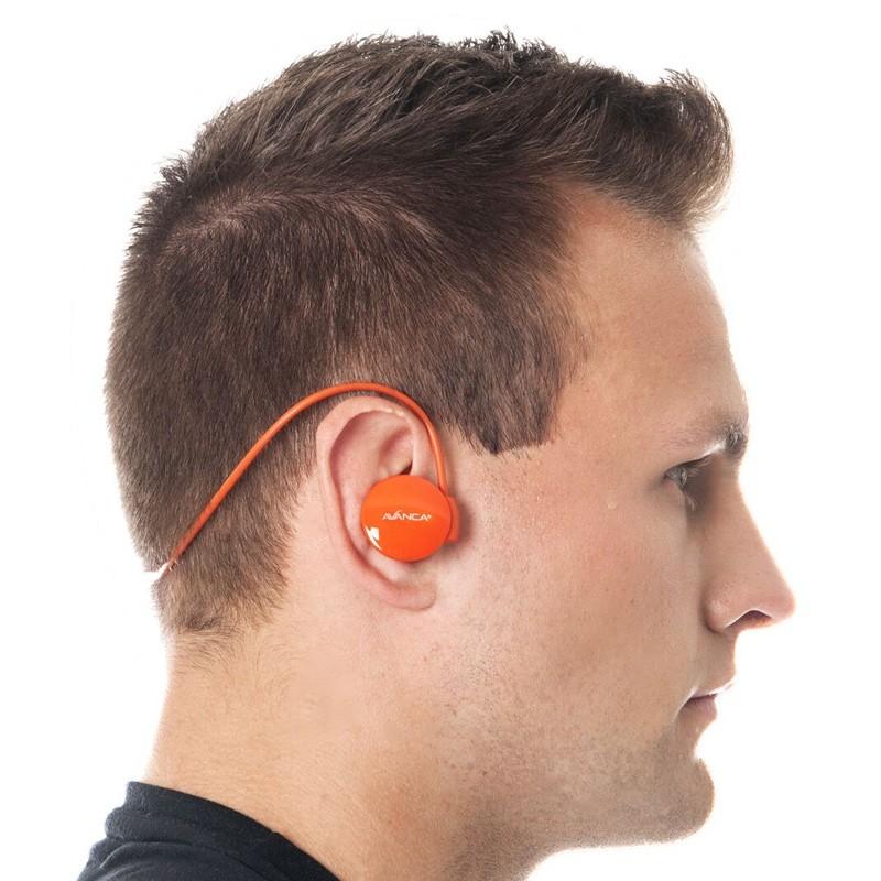 Avanca - S1 Sports Headset Orange 04