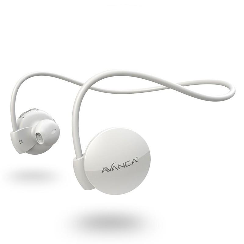 Avanca - S1 Sports Headset White 01
