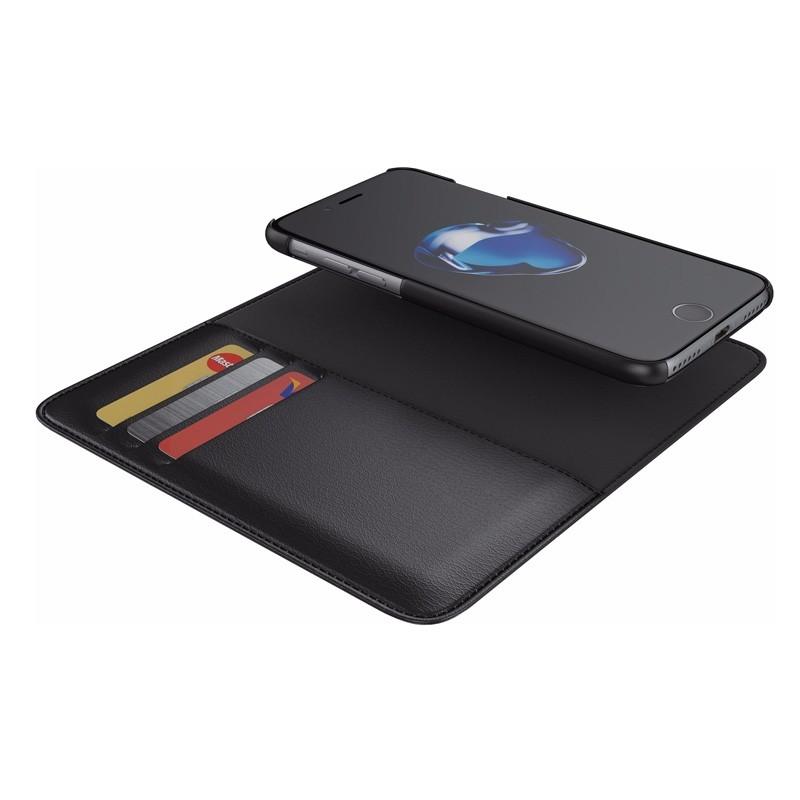 BeHello 2-in-1 Wallet iPhone 8/7 Zwart - 4