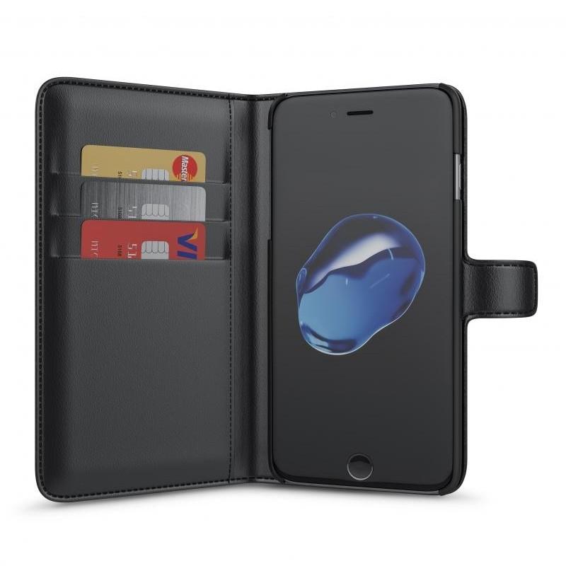 BeHello iPhone 8 Plus/7 Plus Portemonnee Hoesje Zwart - 1
