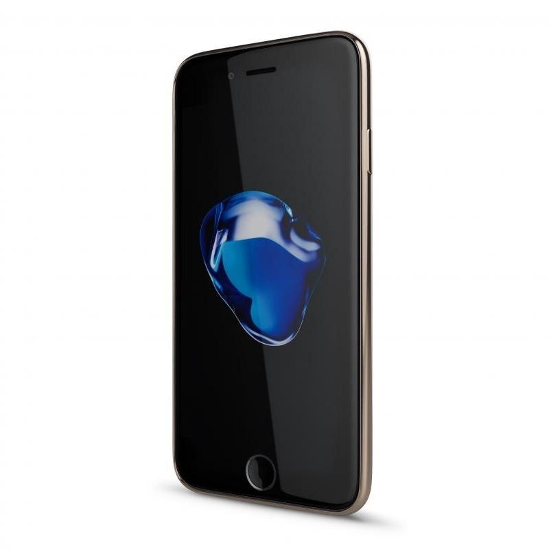BeHello Gel Case Chrome Edge iPhone SE (2020)/8/7/6S/6 Goud - 2