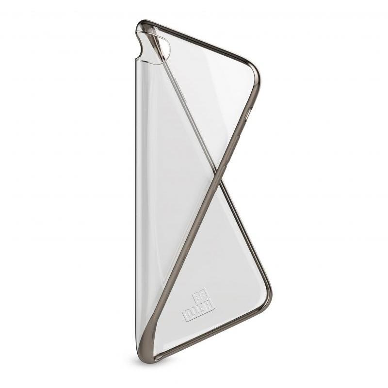 BeHello Gel Case Chrome Edge iPhone SE (2020)/8/7/6S/6 Goud - 4