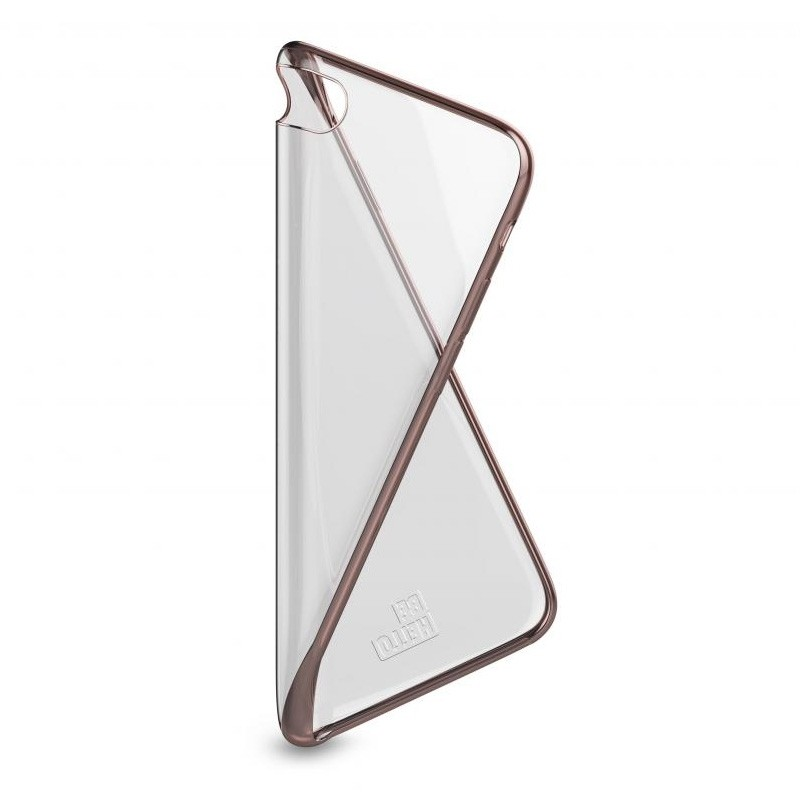 BeHello Gel Case Chrome Edge iPhone SE (2020)/8/7/6S/6 Rose Goud - 4