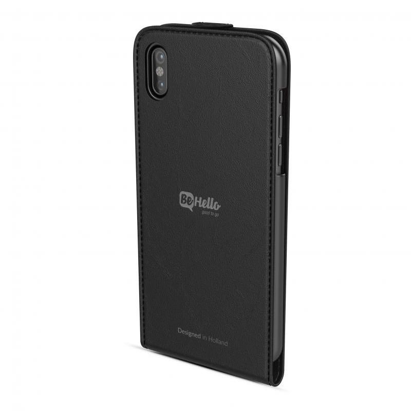 BeHello Flip Case iPhone X/Xs Zwart 02