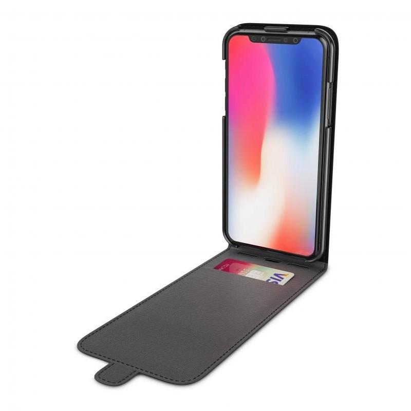 BeHello Flip Case iPhone X/Xs Zwart 03