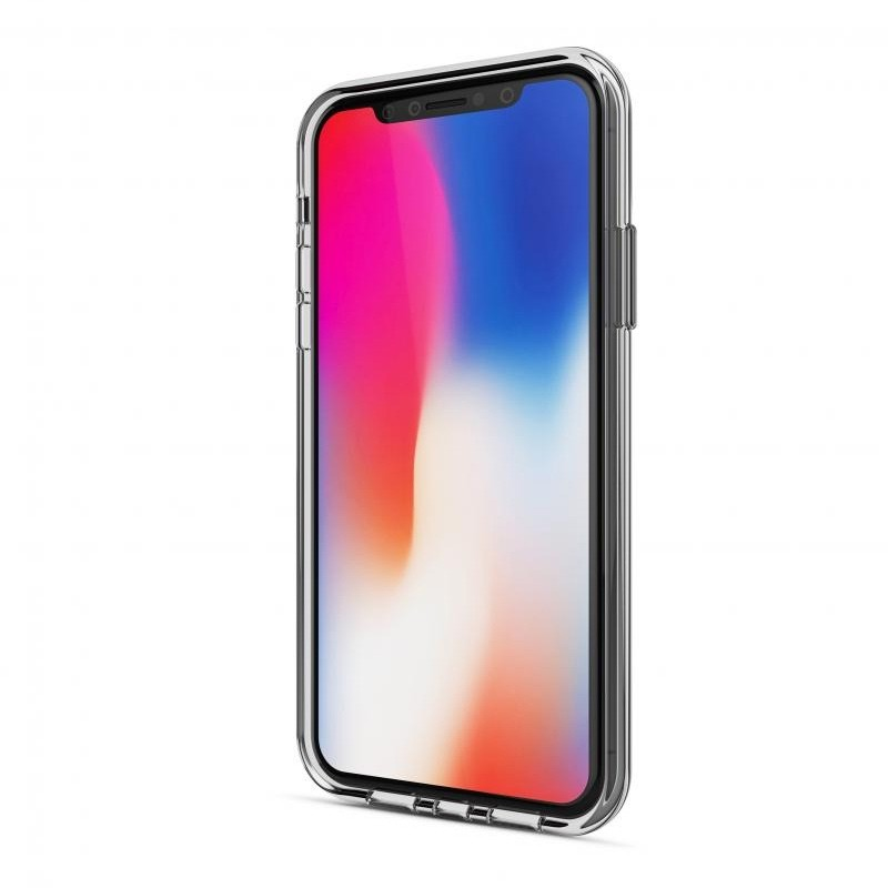 BeHello Gel Case iPhone X/Xs Hoesje Transparant 02
