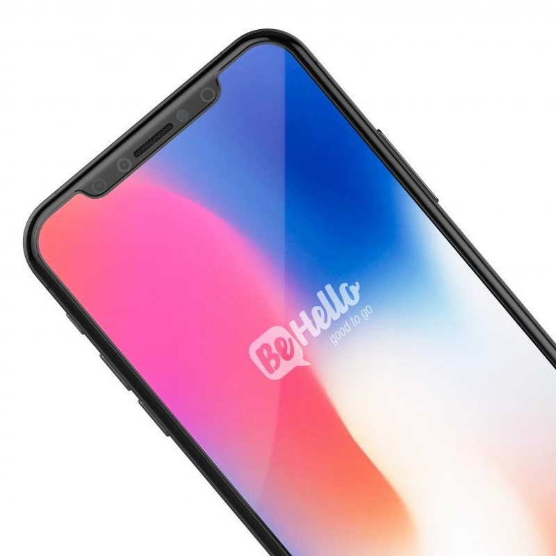 BeHello High Impact Glass Screenprotector iPhone X/Xs 03