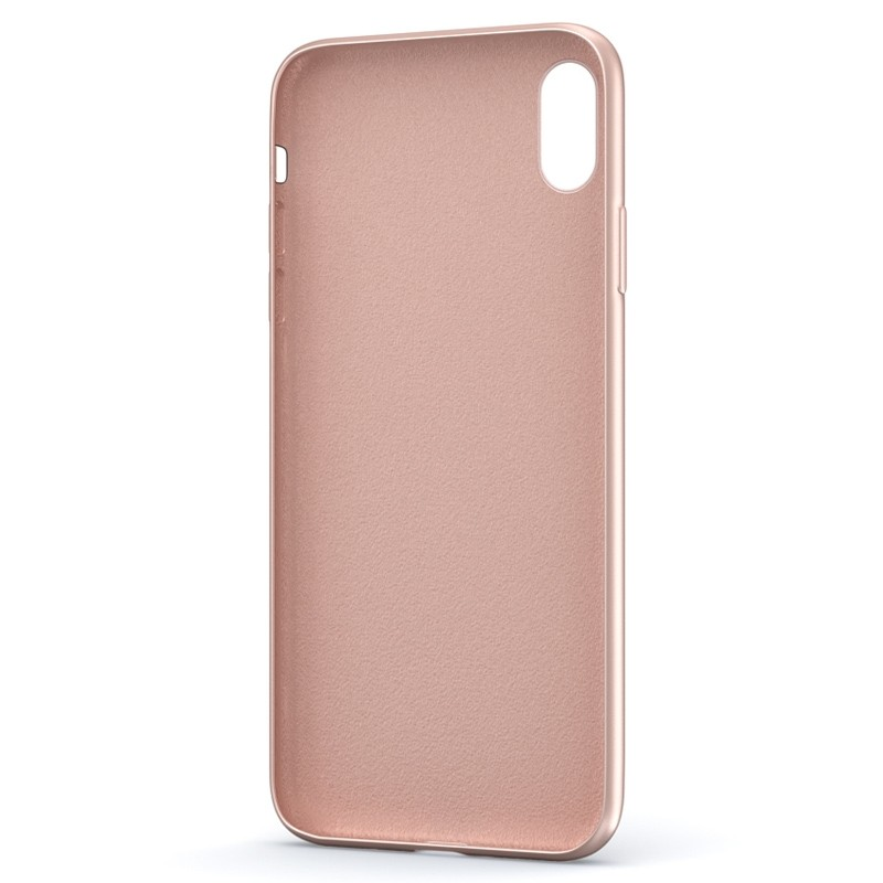 BeHello Liquid Silicon Case iPhone XS Max Roze 03