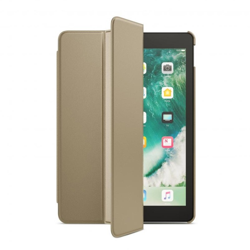 BeHello Smart Stand iPad 2017 Hoesje Goud - 1