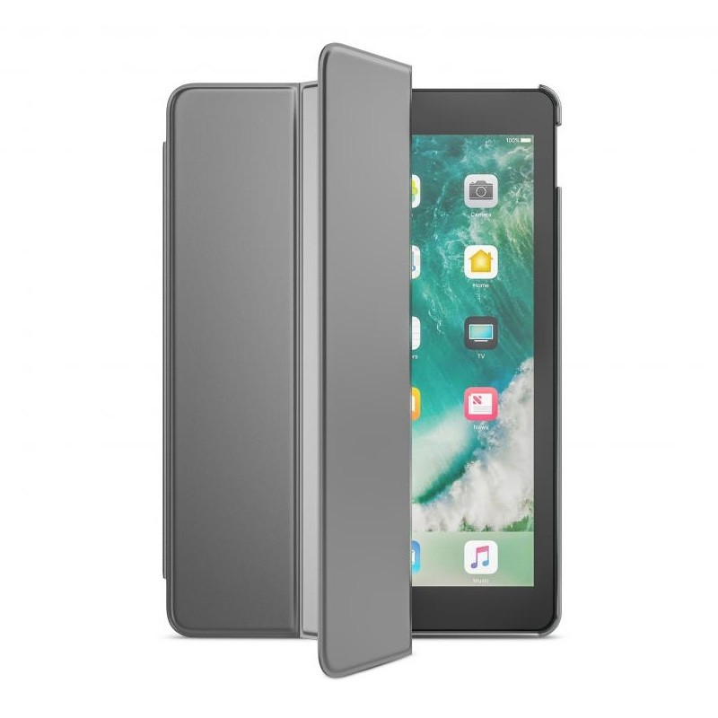 BeHello Smart Stand iPad 2017 Hoesje Zilver - 1