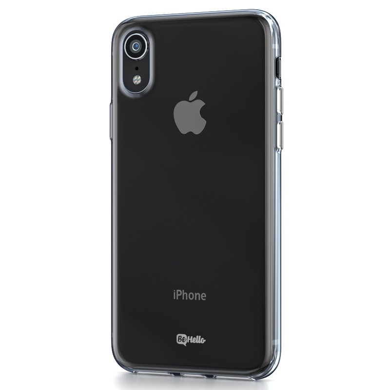 BeHello ThinGel Case iPhone XR Transparant 01