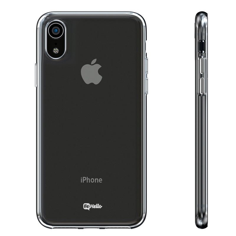 BeHello ThinGel Case iPhone XR Transparant 02
