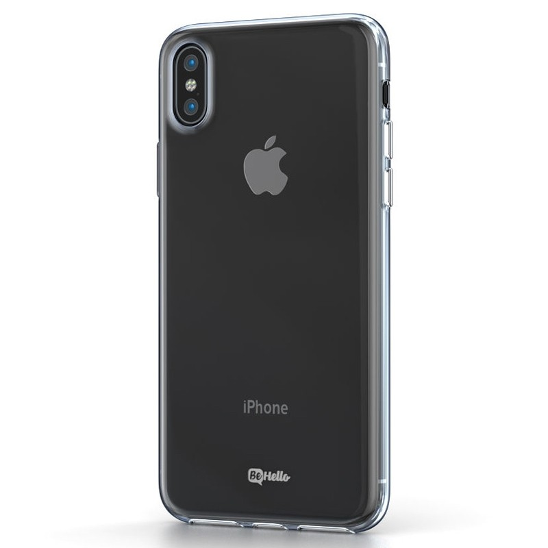 BeHello ThinGel Case iPhone XS Max Transparant 01